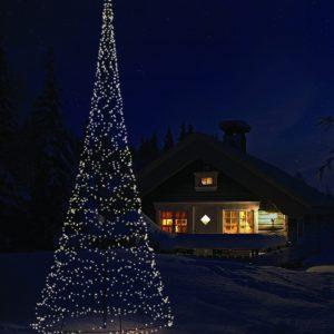 Fairybell 800CM-1200LED Dark snow house